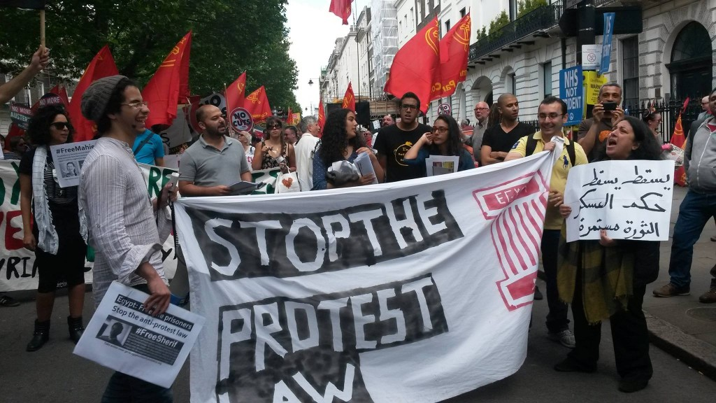 Solidarity with #noprotestlaw campaign from London
