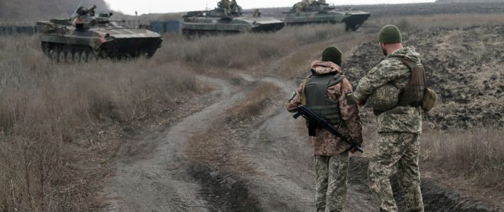 Pro-Russian troops in Ukraine